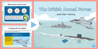 British Armed Forces and Their History PowerPoint