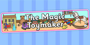 The Magic Toymaker IPC Display Banner - the magic toymaker, IPC display banner, IPC, the magic toymaker display banner, IPC display, toymaker display
