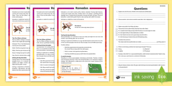 KS2 Ramadan Differentiated Reading Comprehension Activity - Ramadan, KS2, key stage 2, reading comprehension, differentiated reading comprehension, reading, com