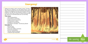 NAPLAN Style English Example Tests - Set 1 Narrative Writing Stimulus Picture - NAPLAN, Narrative, Writing, Assessment,Australia
