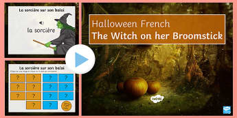 The Witch on her Broomstick PowerPoint