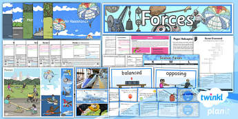 PlanIt - Science Year 5 - Forces Unit Pack - planit, year 5, science, forces