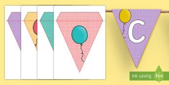 Our Class Birthdays Display Bunting - Australia, birthday, celebration, party, birth, special, day, display