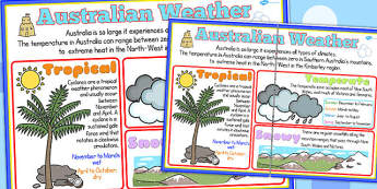 Winter Large Information Poster A2 - seasons, weather, display