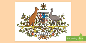 Australian Coat of Arms Cut-Outs - australia, coat of arms, clip-art