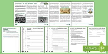 How to Win a War with the Weather Report Differentiated Reading Comprehension Activity  - Comprehensions KS3/4 English, reading comprehension, D Day, Normandy Landings, Kamakazi, war, battle