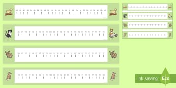 Numbers 100 to 200 in 1's Number Line - Numbers 0 to 100 on a Number Line - numbers to 200, thousand, hundred, tens, ones, units, line, nume