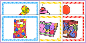 3rd Birthday Party Place Mats - 3rd birthday party, 3rd birthday, birthday party, place mats
