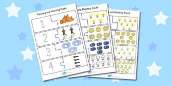 Light and Dark Counting Puzzle - light, dark, puzzle, counting