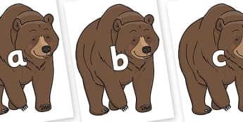 Phase 2 Phonemes on Bear - Phonemes, phoneme, Phase 2, Phase two, Foundation, Literacy, Letters and Sounds, DfES, display