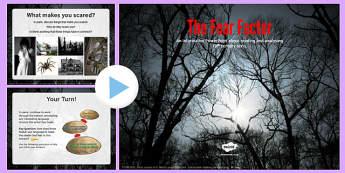 The Fear Factor PowerPoint - the fear factor, powerpoint, fear, factor