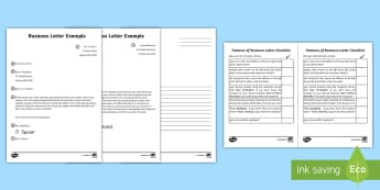 Business Letter and Writing Checklist - Business letter writing checklist australia, business letter, formal letter, letter writing, formal