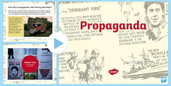 The Role of Propaganda During Apartheid PowerPoint - South Africa Youth Day 16 June, Apartheid, history, propaganda,
