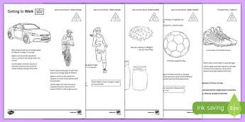 Measure at Home Upper and Lower Bounds Grades 5 on Activity Sheet Pack - measure at home, upper, lower, bounds, grade, 5, activity, worksheet