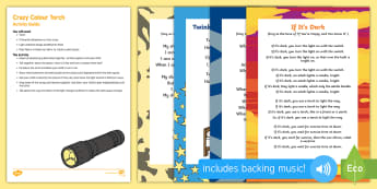 Crazy Colour Torch Busy Bag Resource Pack for Parents - Light and Dark, explore, science, light, colours, shadows