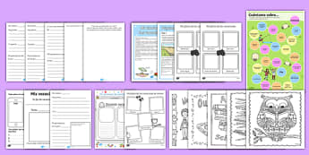 KS1 First Day Back Activity Pack Spanish - spanish, transition, first week back, back to school, first day, September