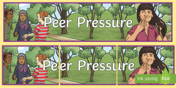 Peer Pressure Display Banner - UKS2, LKS2, negative, positive, number, zero, forwards, backwards, context, calculate