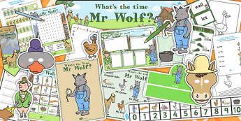 What's The Time Mr Wolf - what's the time mr wolf, time, pack