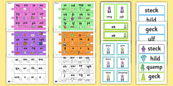 Year 1 Phonics Screening Check Resource Pack - phonics, checking, resource, pack