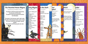 Halloween Songs and Rhymes Resource Pack