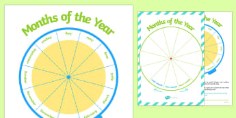 Months of the Year - - Months, Year
