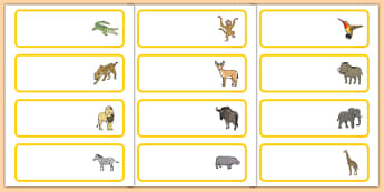 Crocodile Themed Editable Drawer Peg Name Labels - The Selfish Crocodile, classroom management, peg labels, drawers, new class, ks1, ks2, organisation,
