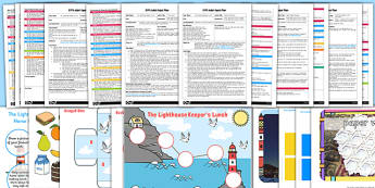 EYFS Adult Input Planning and Resource Pack to Support Teaching on The Lighthouse Keepers Lunch - adult led, EYFS planning, early years plan
