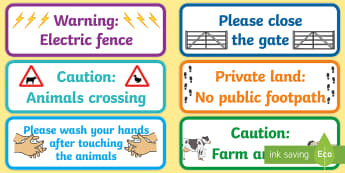 The Farm Aistear Display Posters - Aistear, Infants, English Oral Language, School, The Garda Station, The Hairdressers, The Airport, T