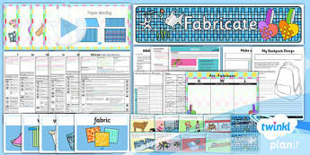 PlanIt - Art KS1 - Fabricate Unit Pack - planit, art, ks1, unit pack, unit