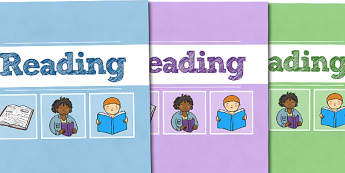 A4 Reading Divider Covers - A4 Reading Divider Covers, Reading Divider Covers, Divider Covers, Reading