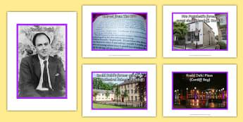 Roald Dahl Display Pack - welsh, Roald Dahl, Photo Display Pack