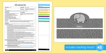 EYFS Elmer's March Adult Input Plan and Resource Pack