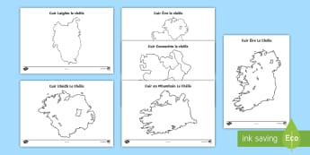 Cuir Éire le Chéile Resource Pack - Requests - ROI, ireland, jigsaw, map, gaeilge