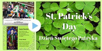 St. Patrick's Day PowerPoint Polish Translation - polish, st patricks day, powerpoint, day