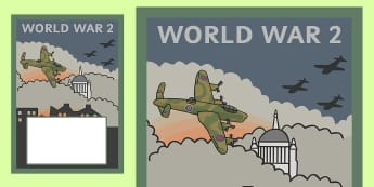 World War 2 Book Cover - world war 2, book cover, book, cover