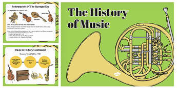 Musical Elements and Instruments of the Baroque Classical and Romantic Periods PowerPoint