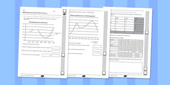 Year 5 Maths Assessment Statistics T2 - Maths, Assessment, Statistics