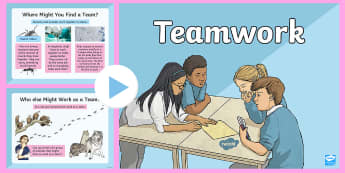 Team Work  PowerPoint - united, together, group, support, pack