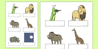 Dancing Giraffe Themed Editable Self-Registration - Giraffes, dance, label, name, register, animals, Africa, safari, classroom, organise, early years, nursery, reception, Giraffes Can