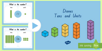 Place Value Blocks Tens and Ones Activity PowerPoint - New Zealand Maths, place value, two-digits
