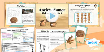 PlanIt History UKS2 Ancient Sumer Lesson 3 Making Their Mark Pack