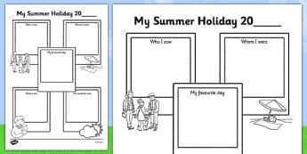 Summer Holiday Snapshots SEN Version - summer holiday, snapshots, sen