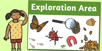 Exploration Area Sign - area, sign, area sign, exploration