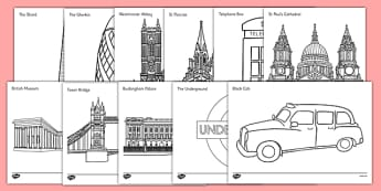 London Colouring Pages - london, colouring, pages, colour, colouring pages, sheets, city