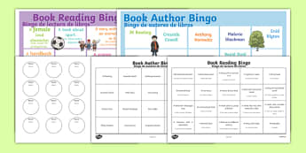 Book Reading Bingo Spanish Translation--translation