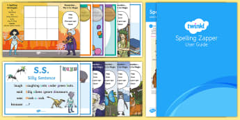 UKS2 Spelling Zapper Set Up Pack - spelling pack, spelling zapper, spelling in the classroom, spelling aid, spelling learning aid, how