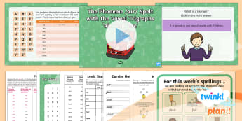 PlanIt English Y1 Term 3A W5: Vowel Trigraphs 'air' and 'are' Spelling Pack - Spellings Year 1, Term 3A, W5, vowel, trigraph, air, are, alternative sounds, alternative spellings