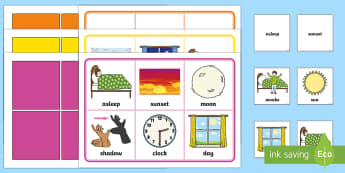 Day and Night Bingo and Lotto Game - EYFS, Early Years, KS1, day and Night, light and dark, time, maths, sequencing.