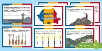 Despre România Cartonașe informative-Romanian - ziua națională a româniei, 1 Decembrie, România, romania, informații, cultura generala, curiozi