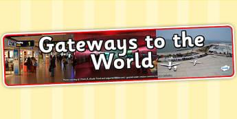 Gateways to the World IPC Photo Display Banner - gateways to the world, IPC, IPC banner, gateways to the world IPC, gateways to the world banner